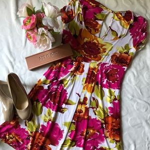 Cache gorgeous floral dress